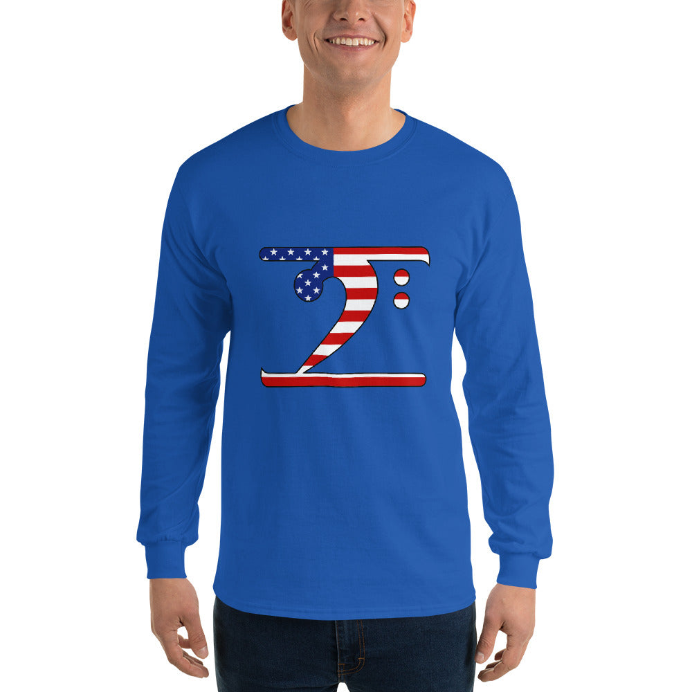USA LBW Long Sleeve T-Shirt - Lathon Bass Wear