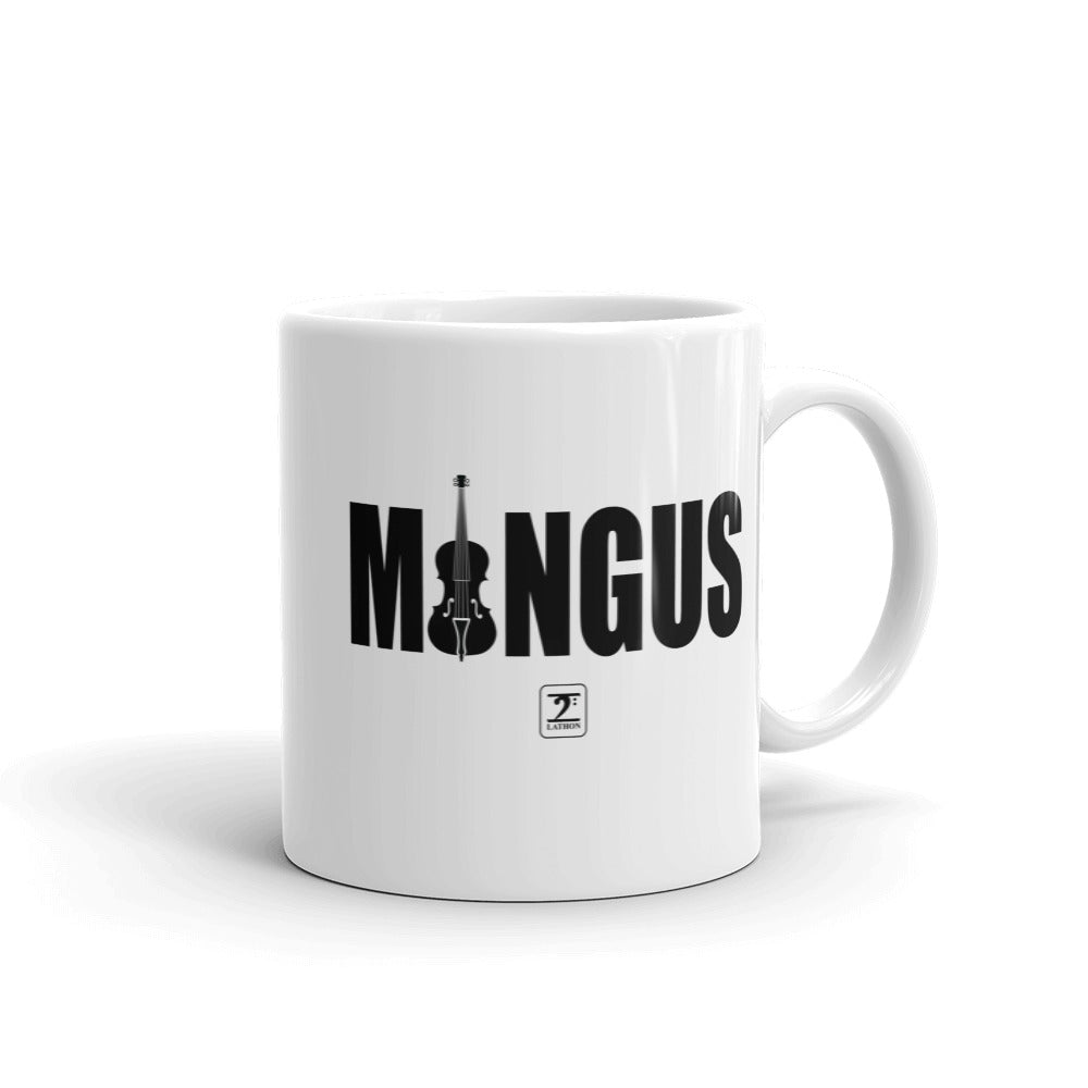 MINGUS-BLACK Mug - Lathon Bass Wear