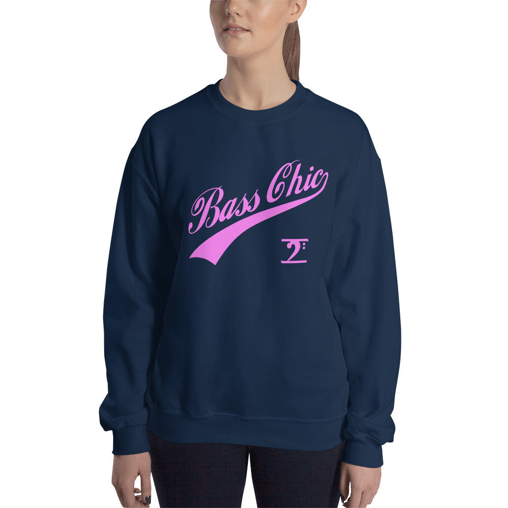BASS CHIC w/TAIL Sweatshirt - Lathon Bass Wear