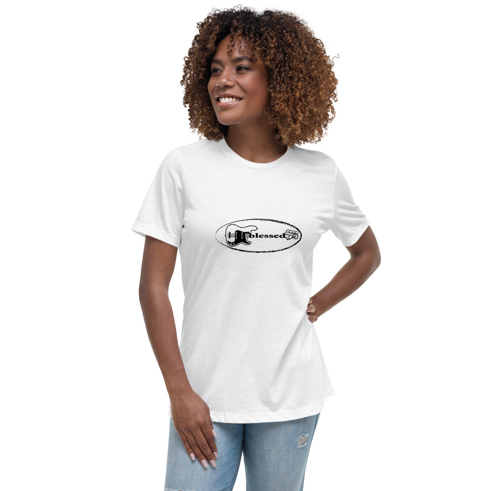 BLESSED Women's Relaxed T-Shirt - Lathon Bass Wear