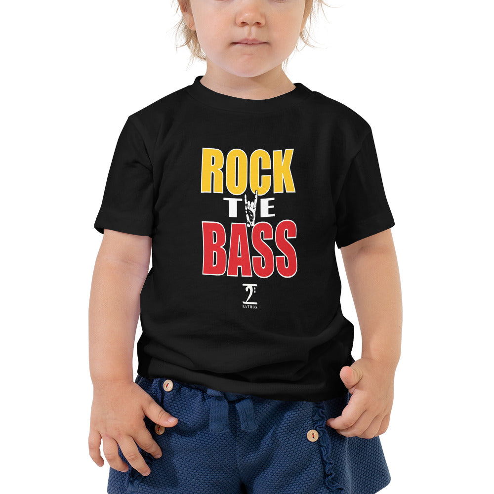 ROCK THE BASS Toddler Short Sleeve Tee - Lathon Bass Wear