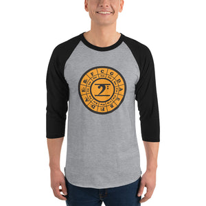 CIRCLE OF 5TH 3/4 sleeve raglan shirt - Lathon Bass Wear