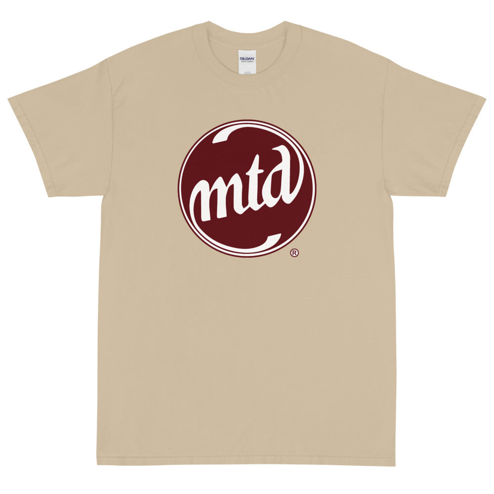MTD BURGUNDY & WHITE LOGO Short Sleeve T-Shirt