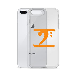 ORANGE LOGO iPhone Case - Lathon Bass Wear
