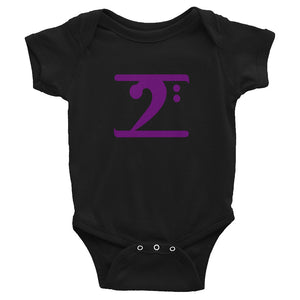 PURPLE LOGO Infant Bodysuit