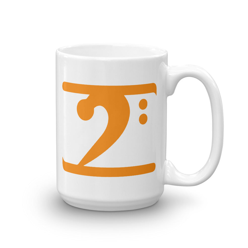 ORANGE LOGO Mug - Lathon Bass Wear