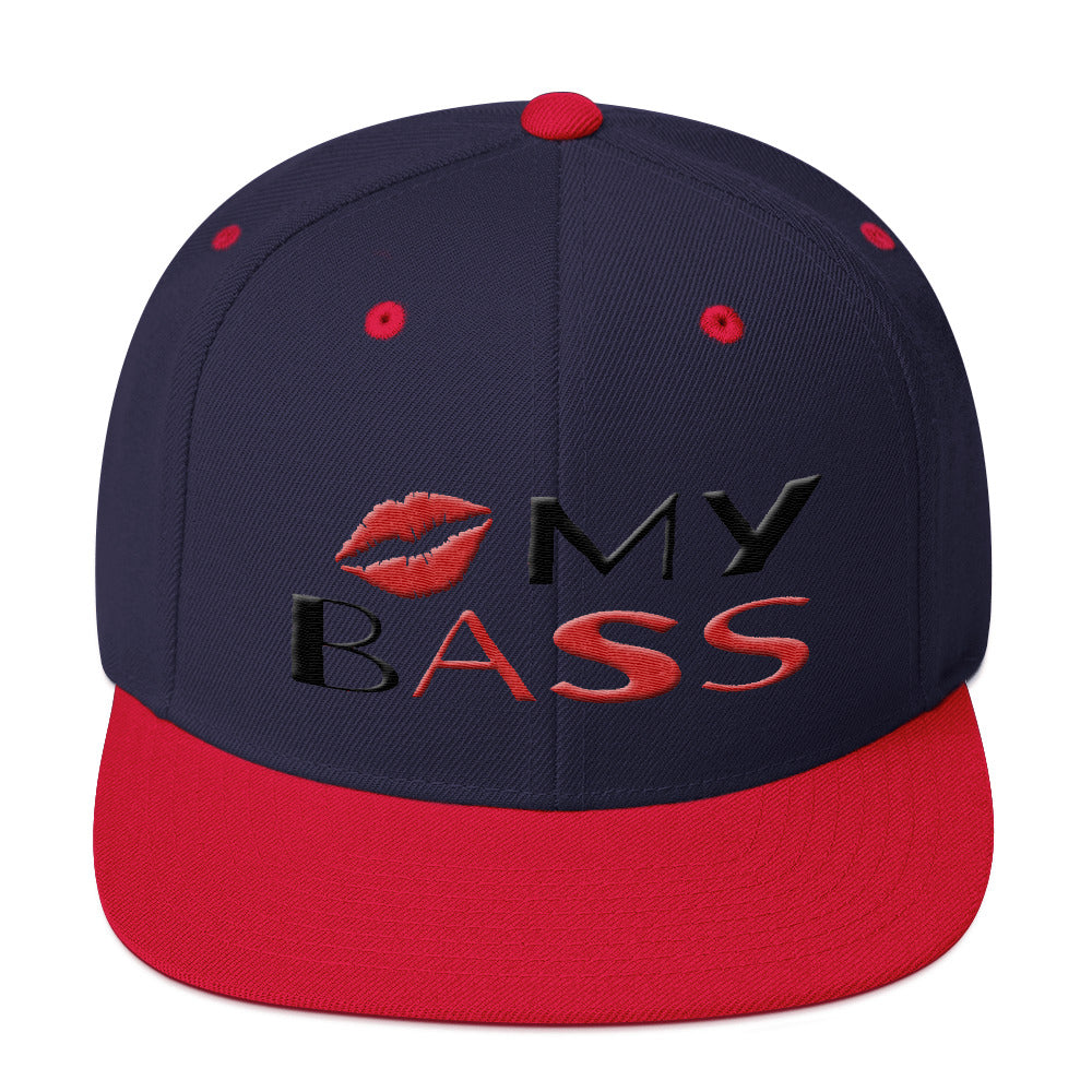 Kiss My Bass Snapback Hat - Lathon Bass Wear