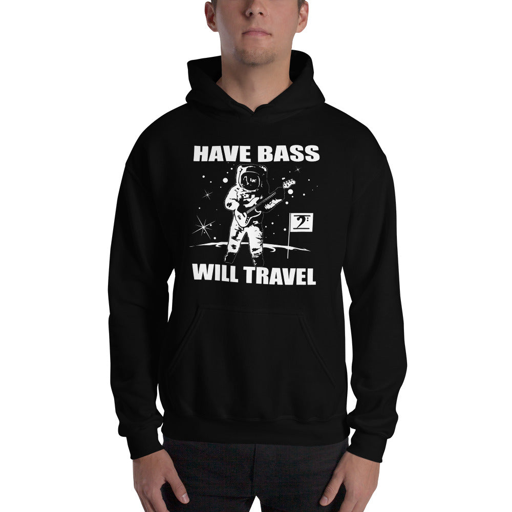 HAVE BASS WILL TRAVEL Hooded - Lathon Bass Wear