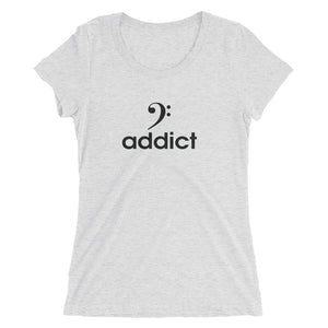 BASS ADDICT Ladies' short sleeve t-shirt - Lathon Bass Wear