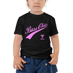 BASS CHIC w/TAIL Toddler Short Sleeve Tee - Lathon Bass Wear