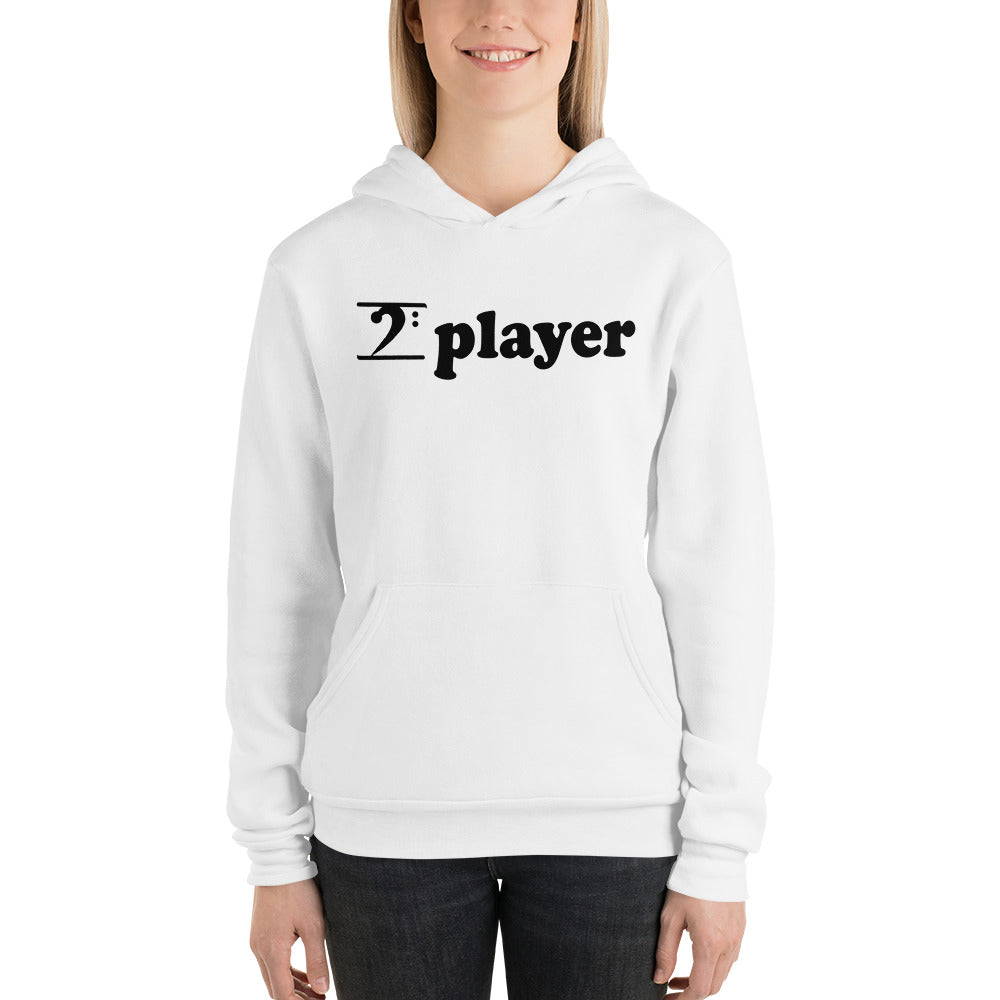 PLAYER Unisex Hoodie - Lathon Bass Wear