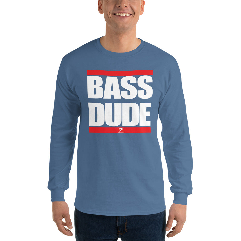 BASS DUDE Long Sleeve T-Shirt - Lathon Bass Wear