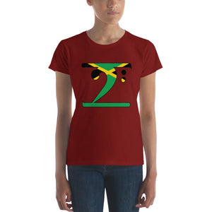 JAMAICA LBW Women's short sleeve t-shirt - Lathon Bass Wear