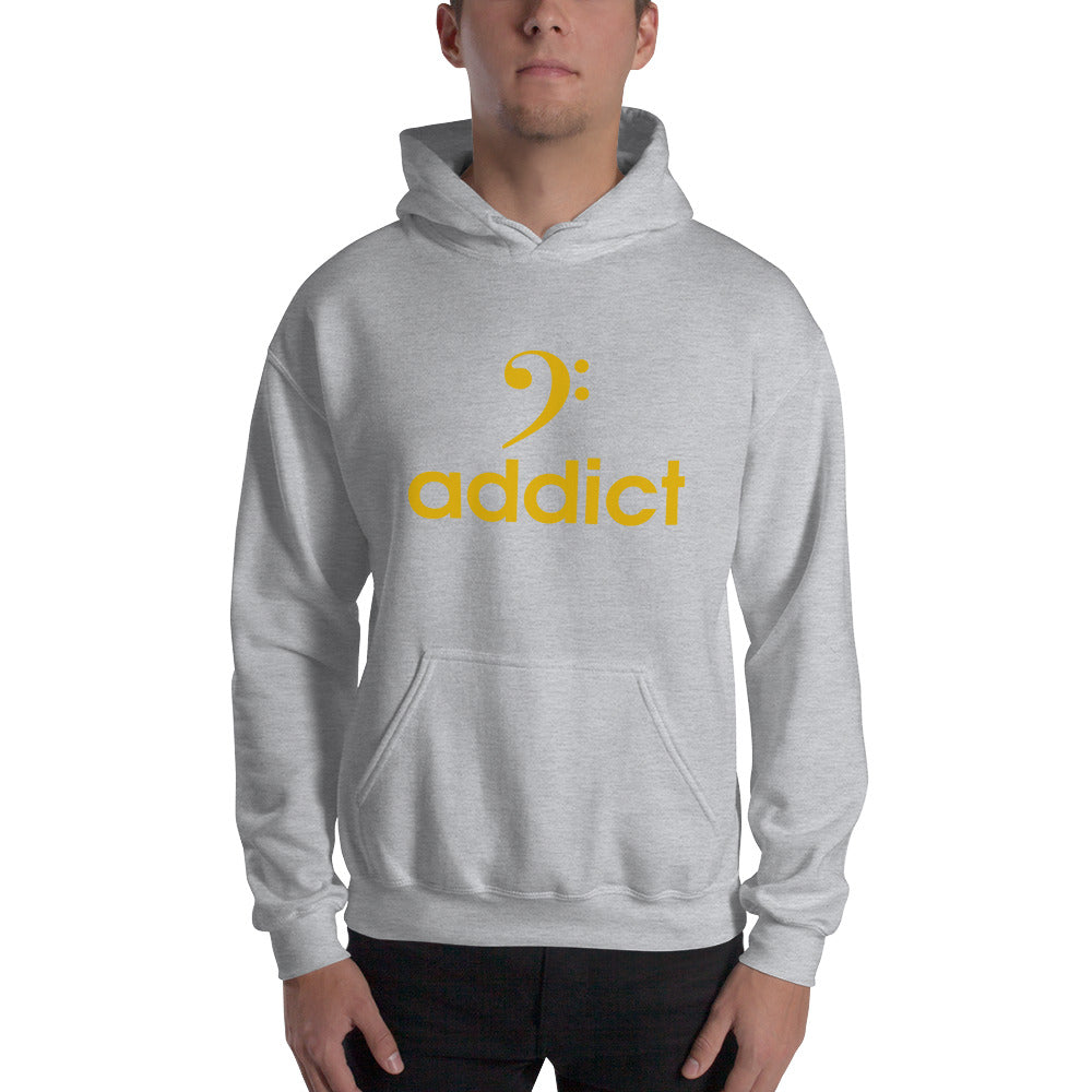 BASS ADDICT - GOLD Hooded - Lathon Bass Wear