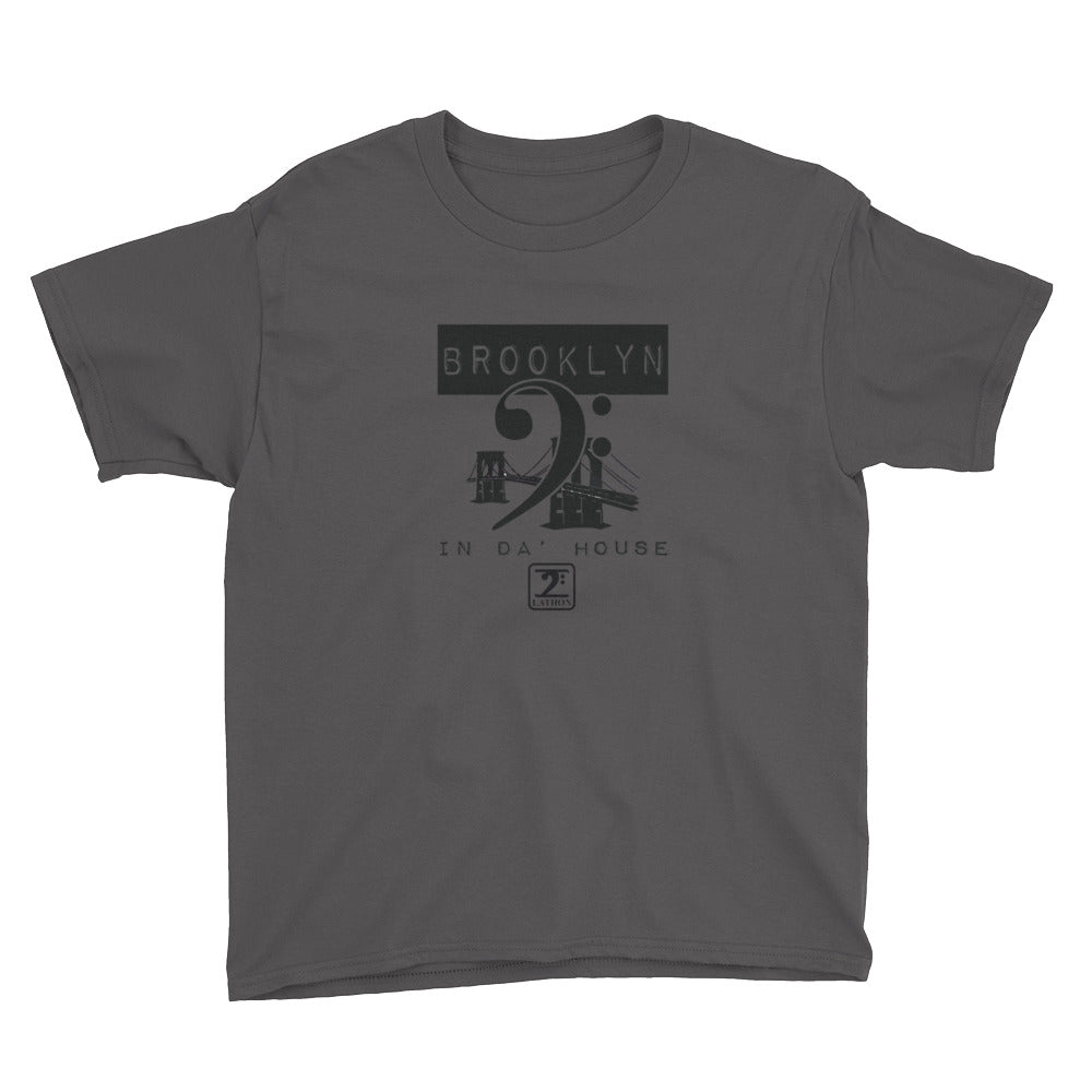 BROOKLYN IN THE HOUSE Youth Short Sleeve T-Shirt - Lathon Bass Wear