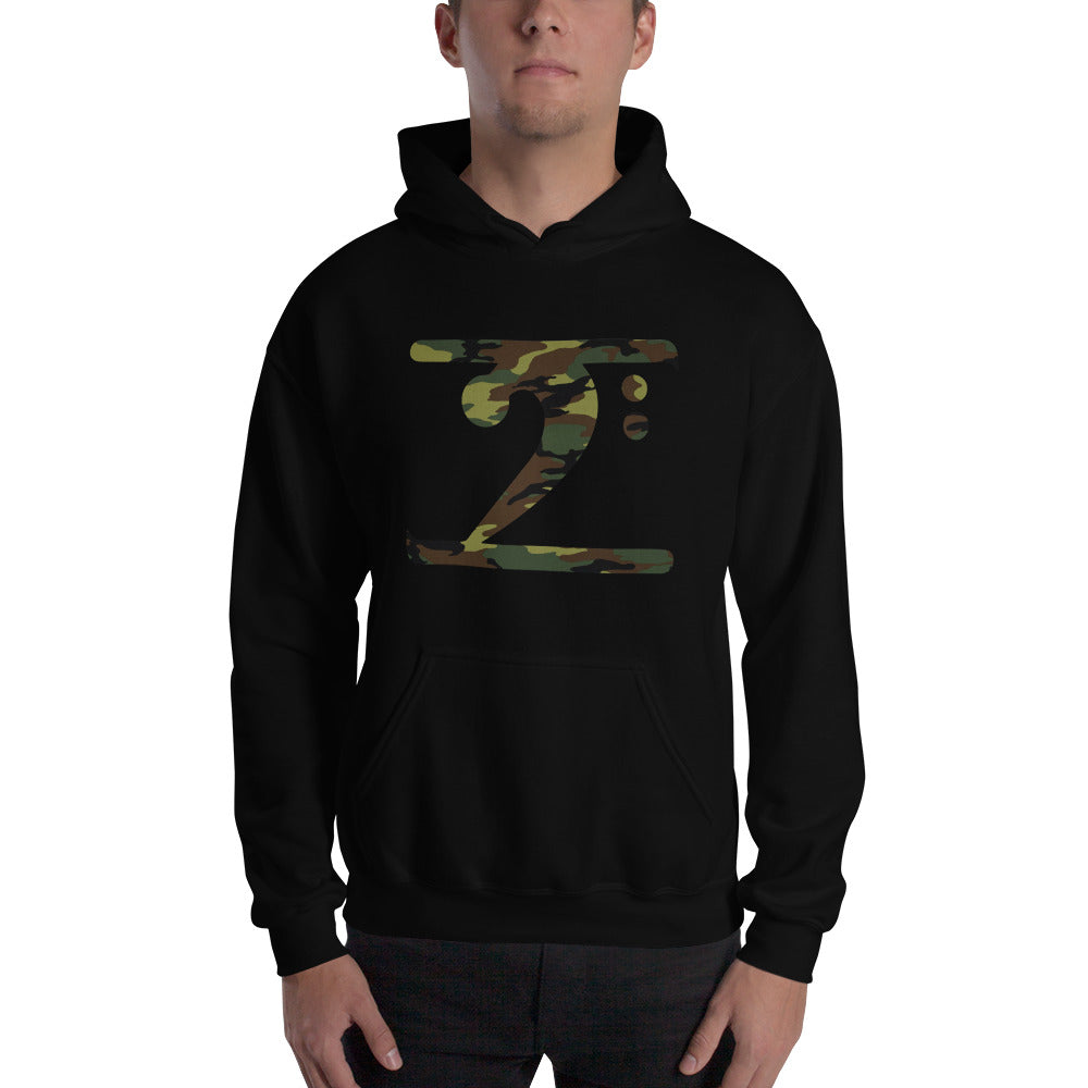CAMO LOGO Hooded - Lathon Bass Wear