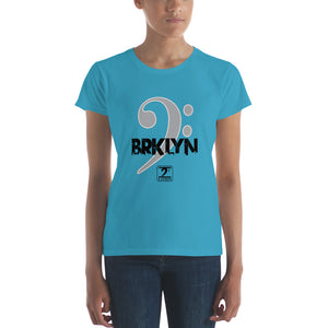 BROOKLYN CLEF Women's short sleeve t-shirt - Lathon Bass Wear