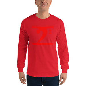 RED LOGO Long Sleeve T-Shirt