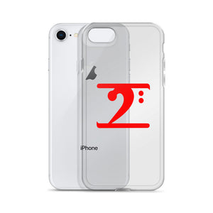 RED LOGO iPhone Case
