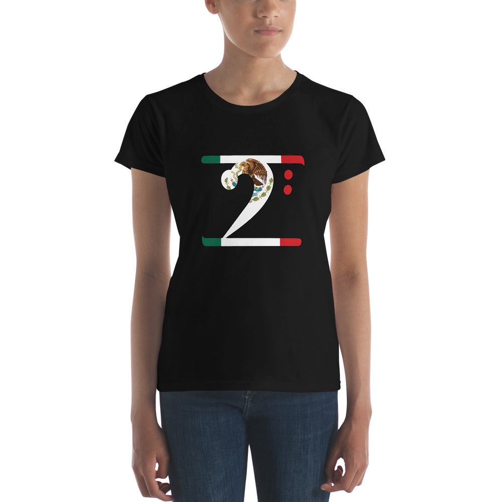 MEXICO LBW Women's short sleeve t-shirt - Lathon Bass Wear