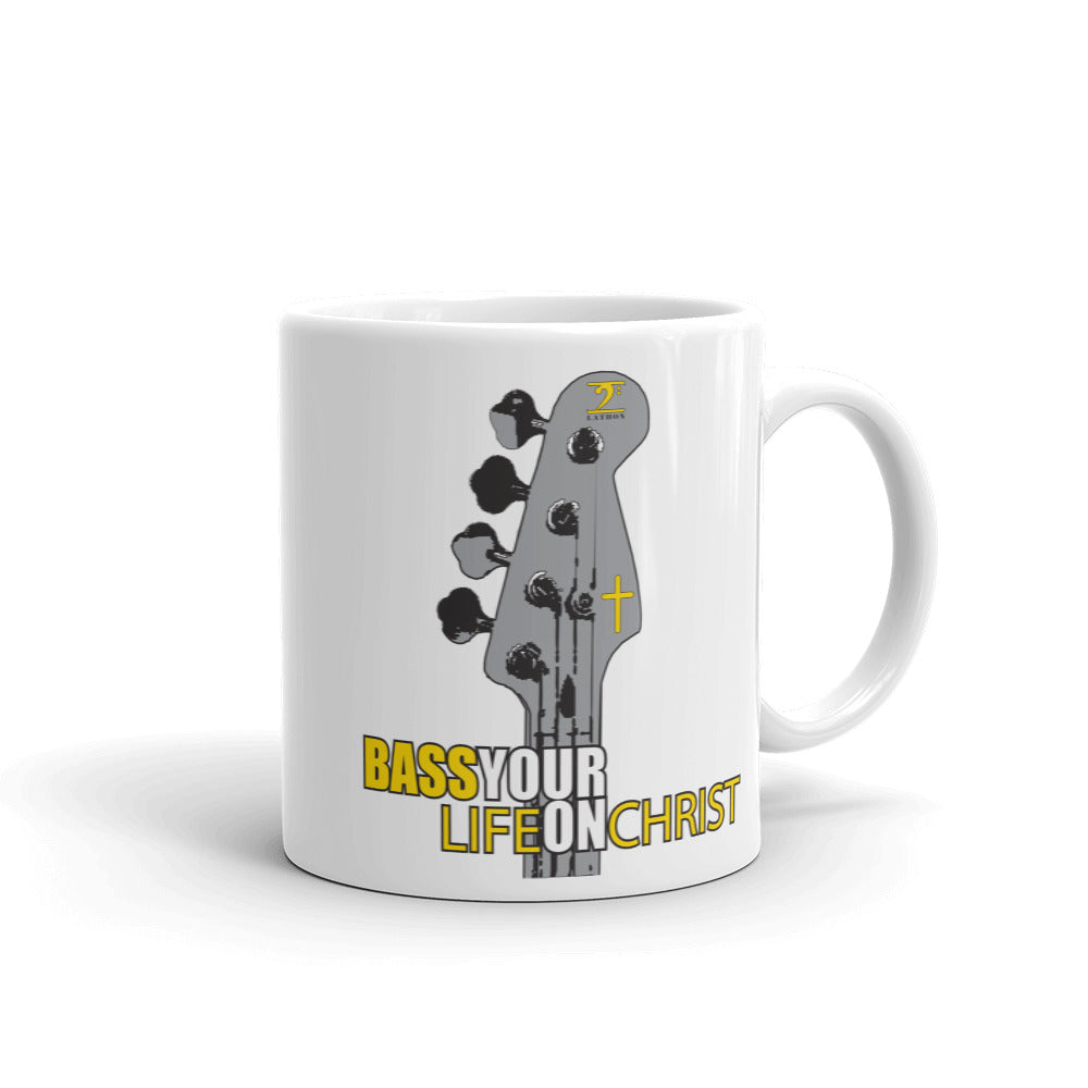 BASS YOUR LIFE ON CHRIST Mug - Lathon Bass Wear