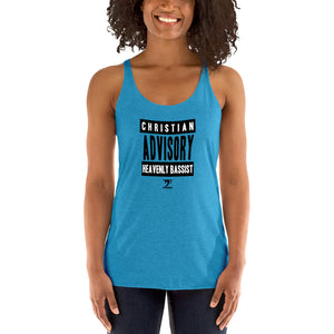 CHRISTIAN ADVISORY Women's Racerback Tank - Lathon Bass Wear