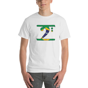 BRAZIL LBW Short-Sleeve T-Shirt - Lathon Bass Wear