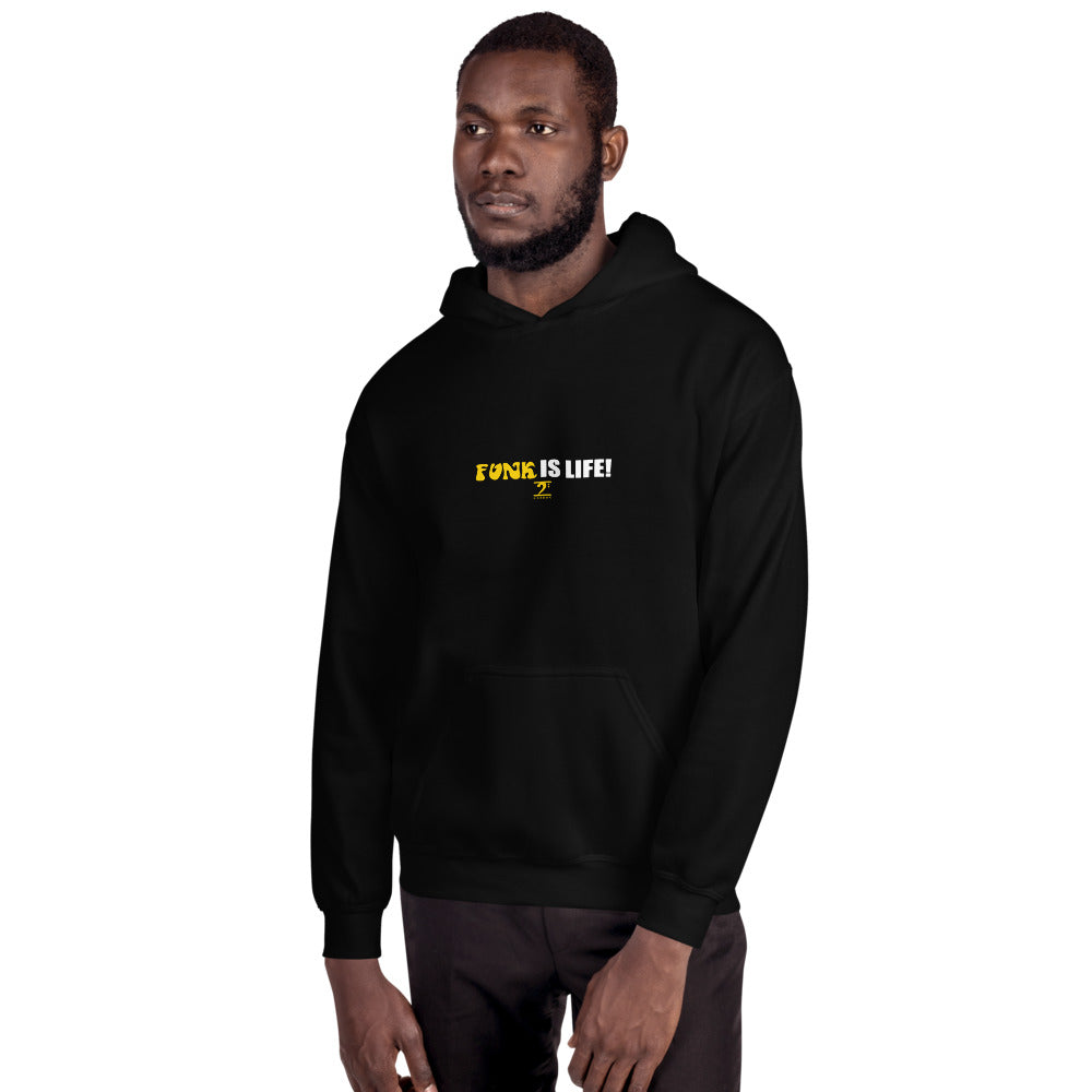 FUNK IS LIFE Unisex Hoodie - Lathon Bass Wear
