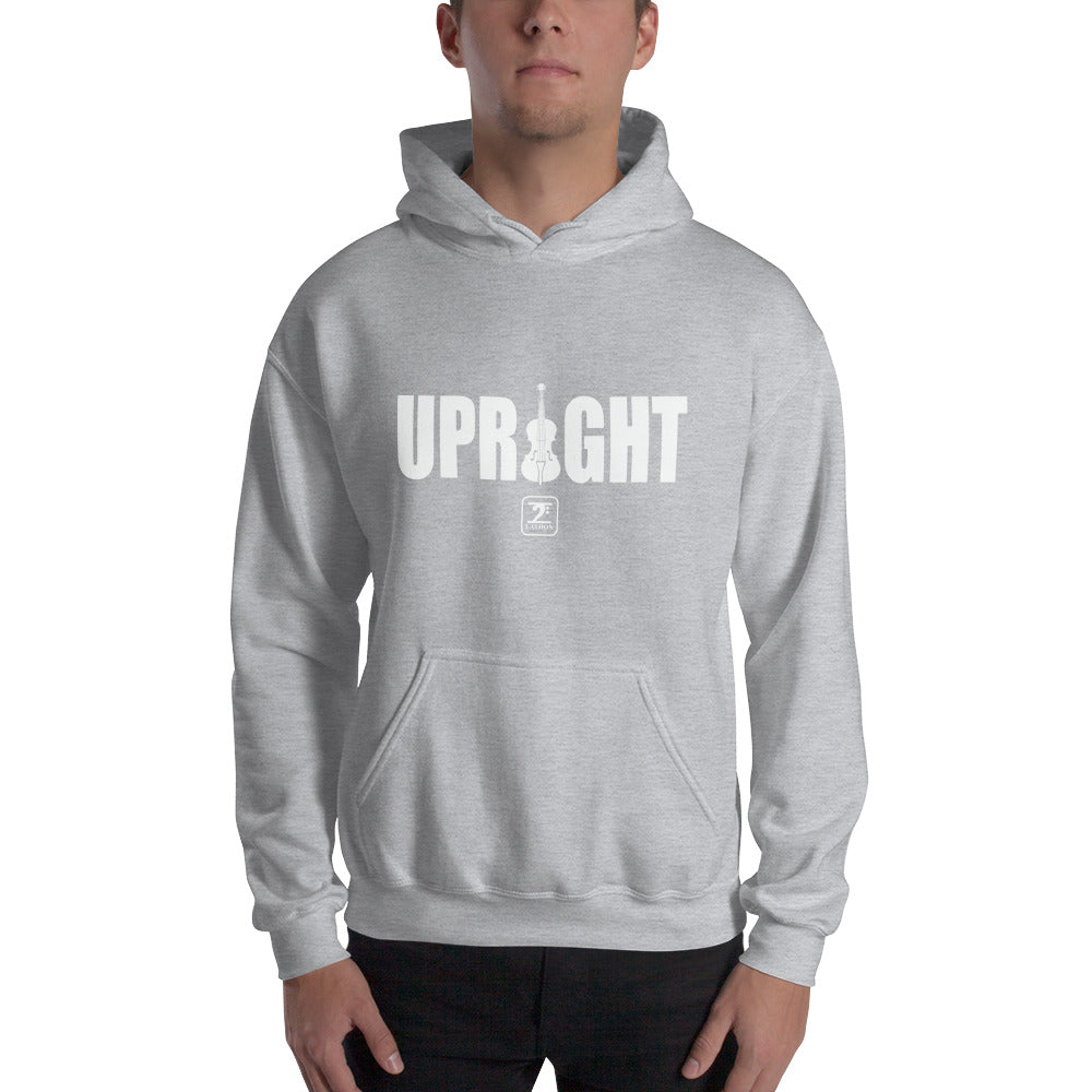 UPRIGHT - WHITE Hooded