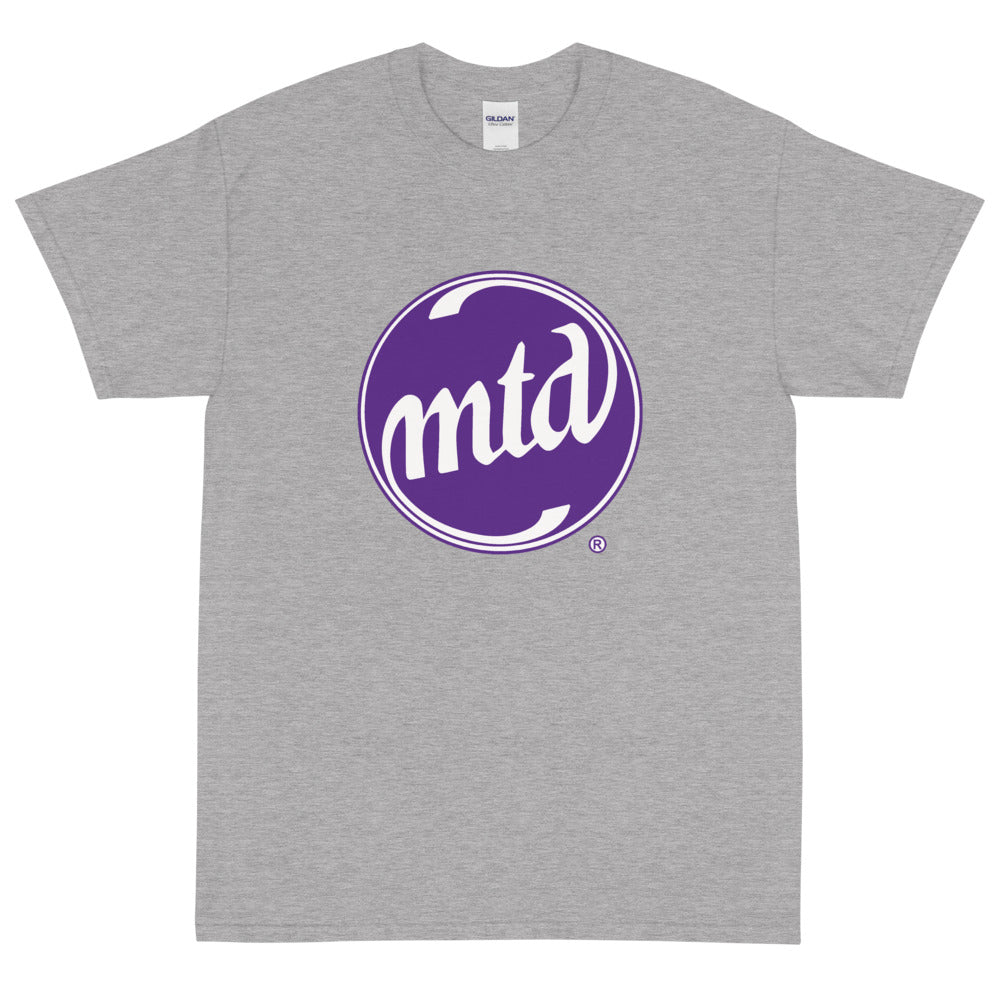 MTD PURPLE & WHITE LOGO Short Sleeve T-Shirt