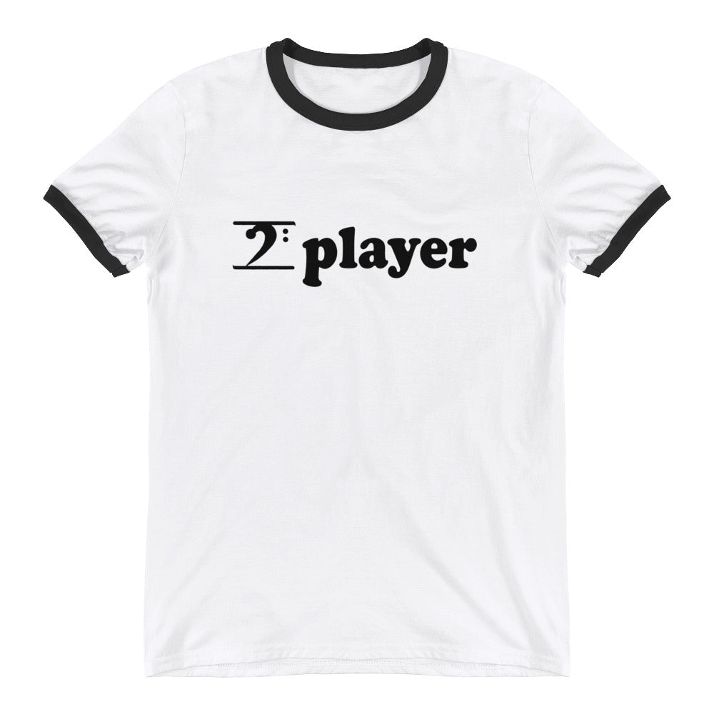 PLAYER Ringer T-Shirt - Lathon Bass Wear