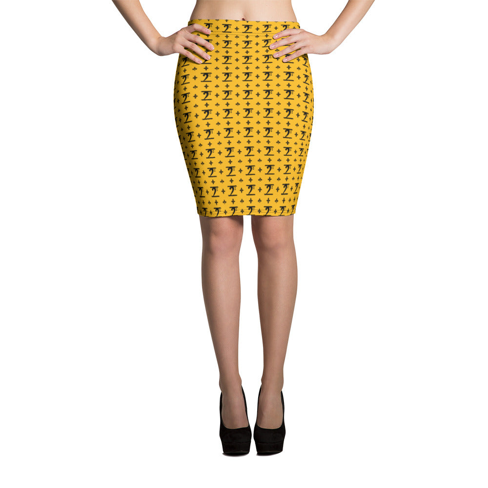LBW Pencil Skirt - Lathon Bass Wear