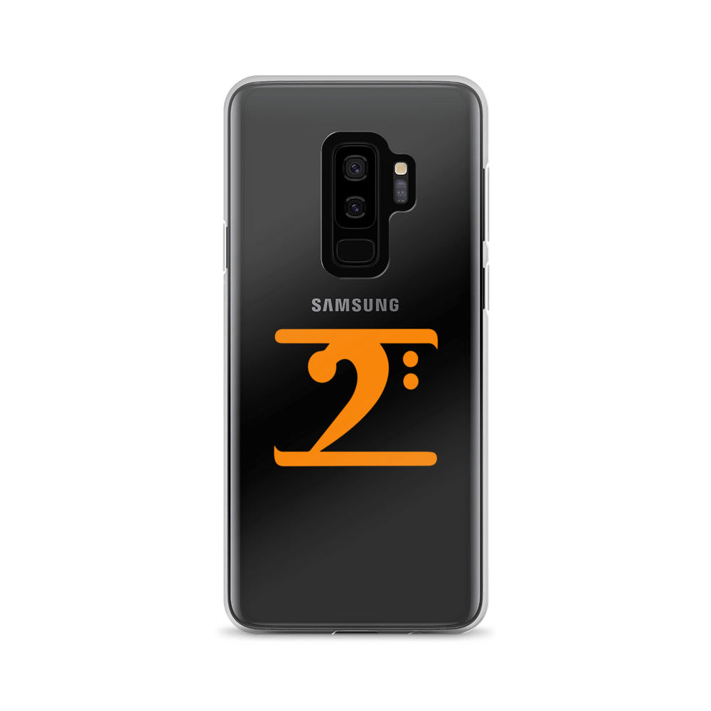 ORANGE LOGO Samsung Case - Lathon Bass Wear