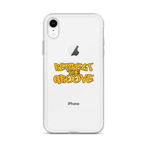RESPECT THE GROOVE iPhone Case
