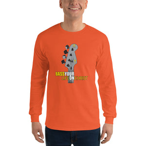 BASS YOUR LIFE ON CHRIST Long Sleeve T-Shirt - Lathon Bass Wear