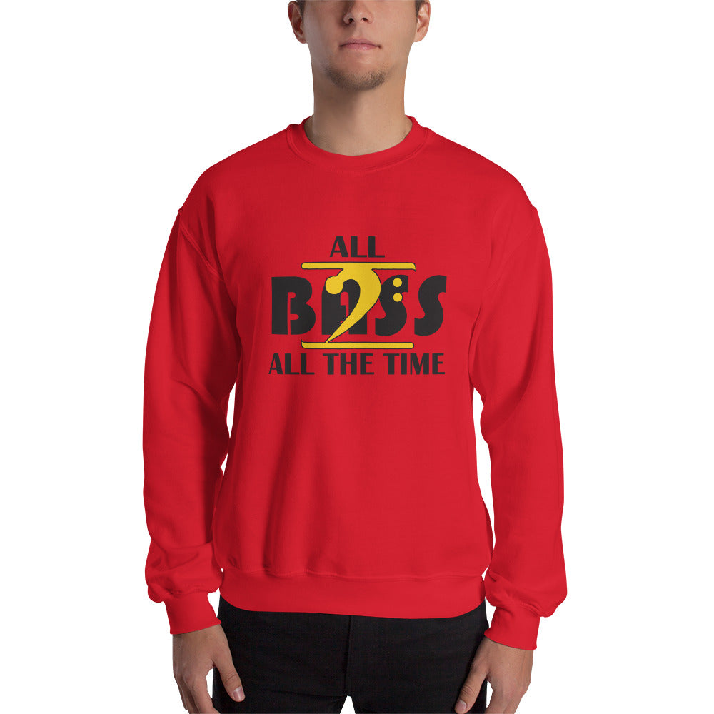 ALL BASS ALL THE TIME Sweatshirt - Lathon Bass Wear