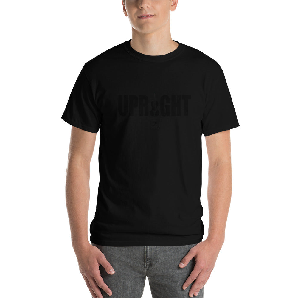 UPRIGHT Short-Sleeve T-Shirt - Lathon Bass Wear