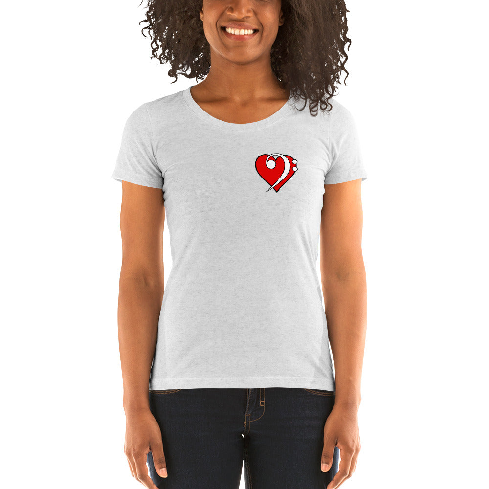 BASS LOVE Ladies' short sleeve t-shirt - Lathon Bass Wear
