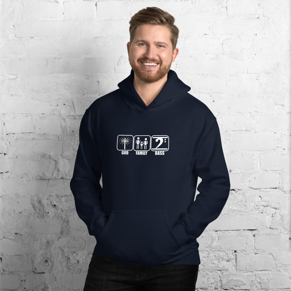 GOD FAMILY BASS 3 Unisex Hoodie - Lathon Bass Wear