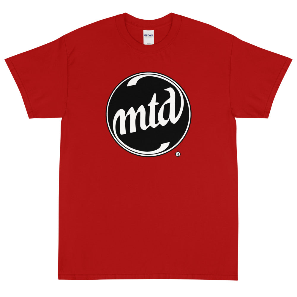 MTD BLACK & WHITE LOGO Short Sleeve T-Shirt