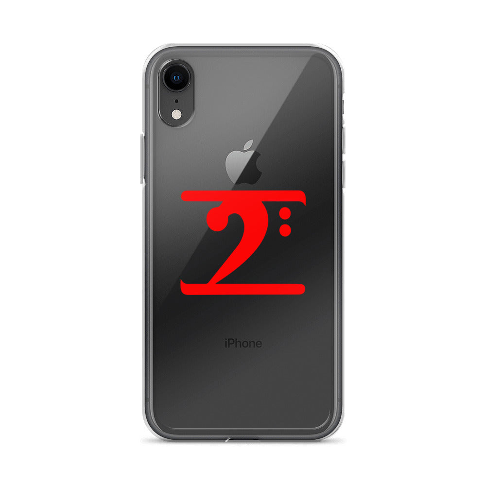 RED LOGO iPhone Case - Lathon Bass Wear