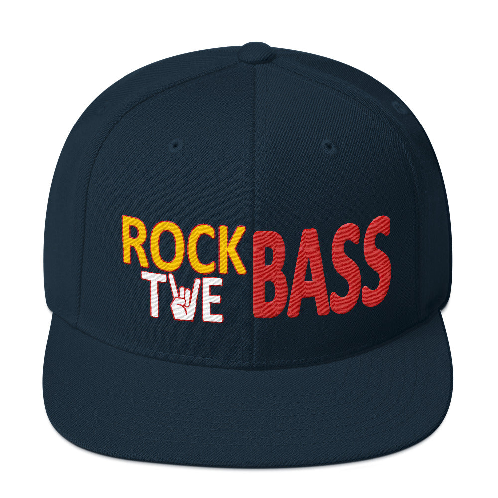 Rock the Bass Snapback Hat - Lathon Bass Wear