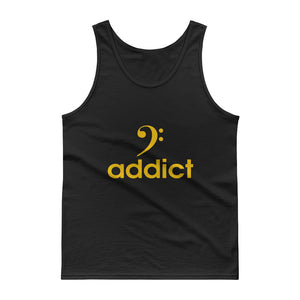 BASS ADDICT - GOLD Tank top - Lathon Bass Wear