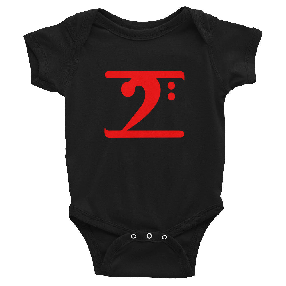 RED LOGO Infant Bodysuit - Lathon Bass Wear