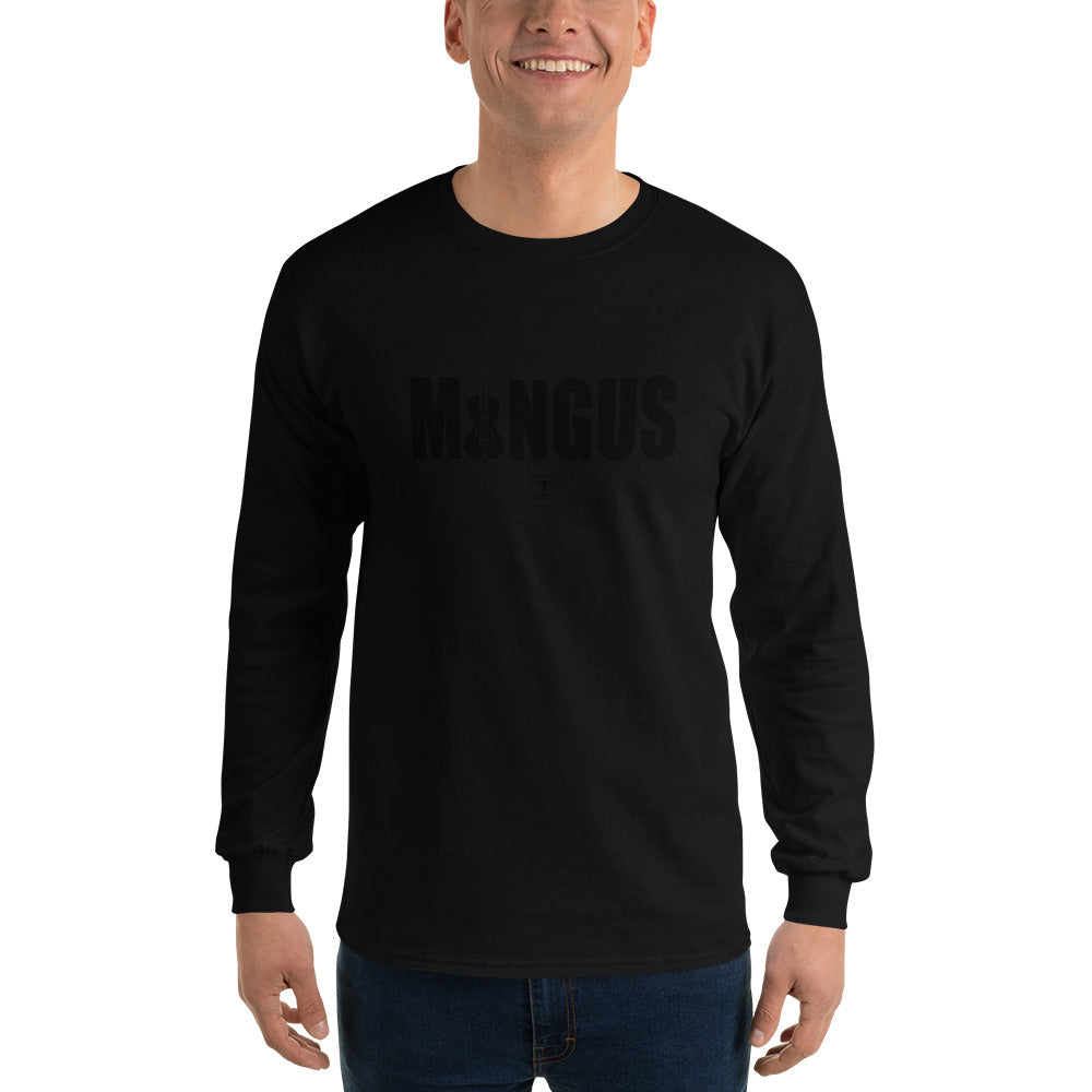 MINGUS-BLACK Long Sleeve T-Shirt - Lathon Bass Wear