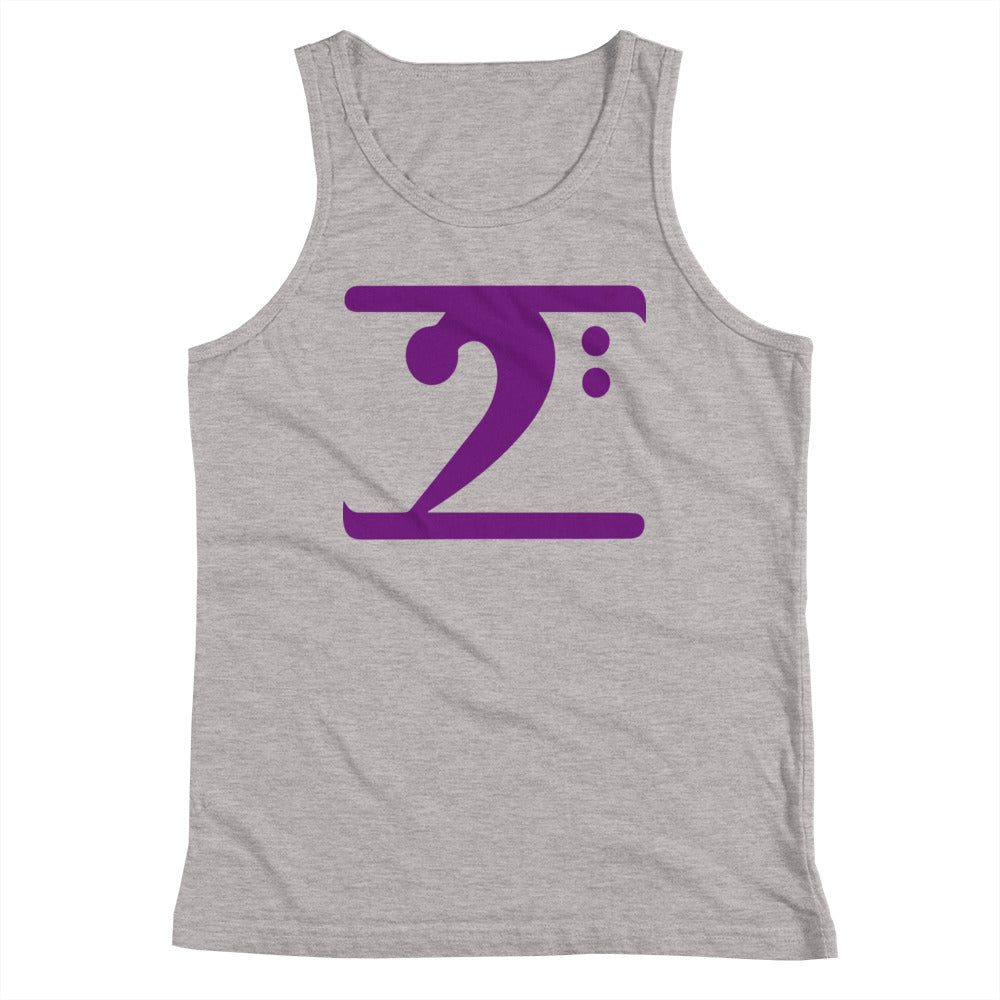 PURPLE LOGO Youth Tank Top - Lathon Bass Wear