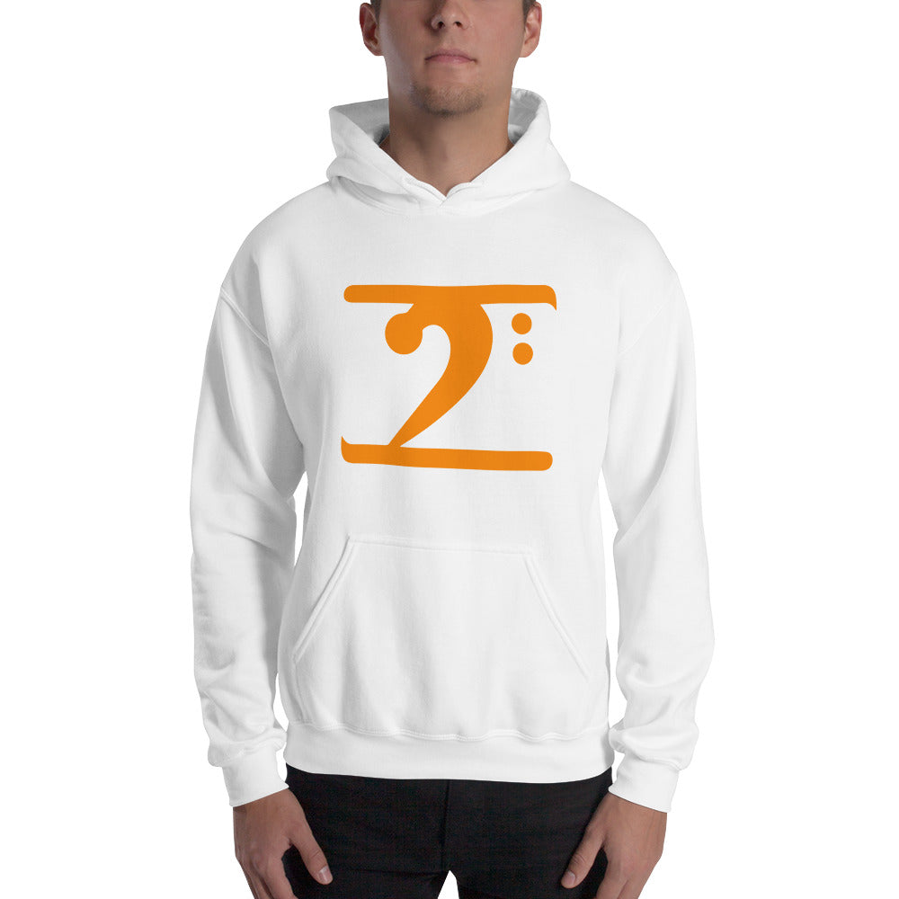 ORANGE LOGO Hooded