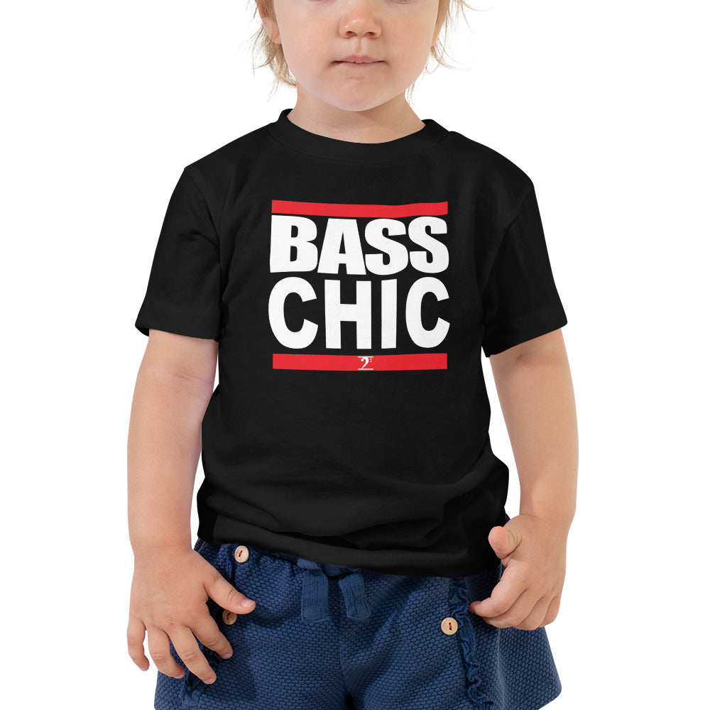 BASS CHIC Toddler Short Sleeve Tee - Lathon Bass Wear