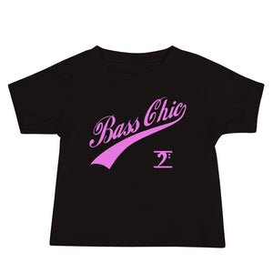 BASS CHIC w/TAIL Baby Jersey Short Sleeve Tee - Lathon Bass Wear