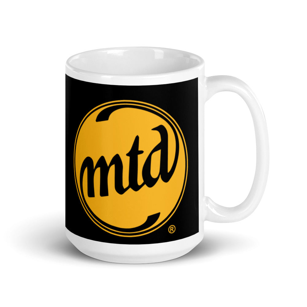 MTD GOLD & BLACK LOGO Mug